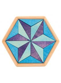 Puzzle de madera hexágono