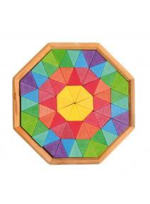 Puzzle de madera Octágono