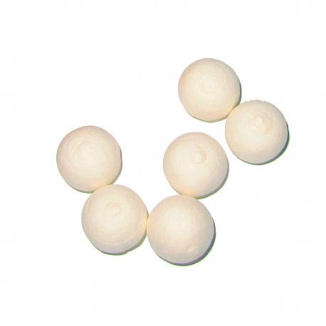 Bolitas de algodón de 15 mm