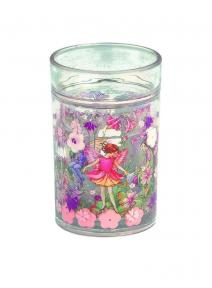Vaso de cristal de Hadas Flores