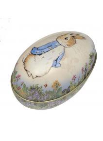 Huevo de lata de Peter Rabbit