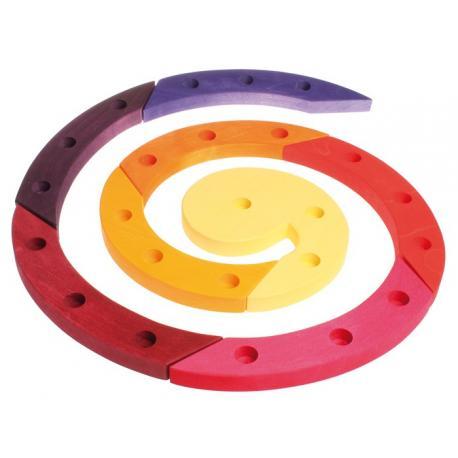 Espiral de madera