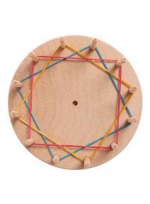 Base de madera creativa