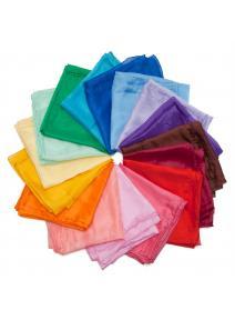Pañuelo de juego de seda