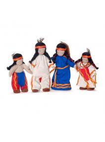 Familia de indios