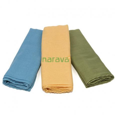 Pack de pañuelos de algodón orgánico