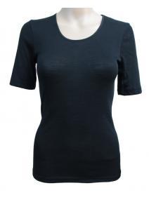 Camiseta de lana orgánica y seda orgánica