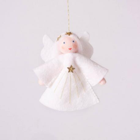 Muñeca angelito para colgar