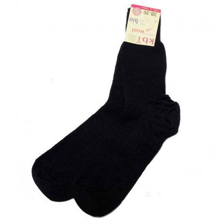 Calcetines de lana fina - negro