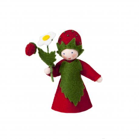 Muñeca flor fresita