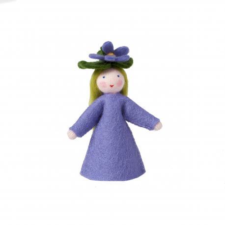Muñeca flor Violeta