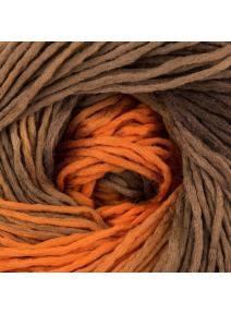 Lana merino - naranjas, marrones, ocres