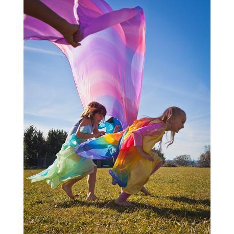 Pañuelo de juego de seda gigante