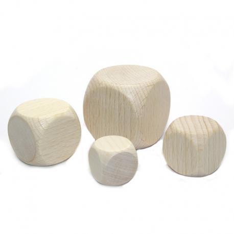 Dados de madera