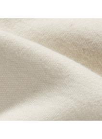 Tela para muñecas de algodón orgánico - blanco