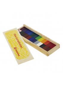 Bloques de cera 24 colores