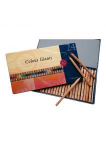 Stockmar - AMS lápices de madera de 24 colores.