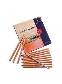 Stockmar - AMS lápices de madera de 12 colores.