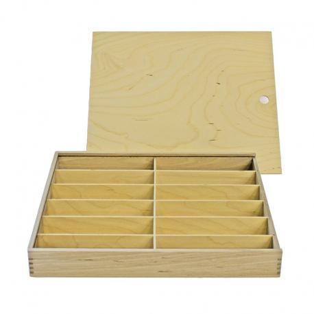 Bandeja de madera para lápices