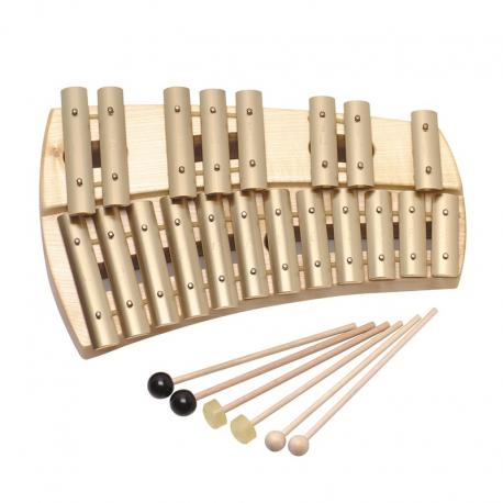 Glockenspiel cromático diatónico