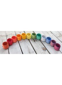 Cuencos arco iris