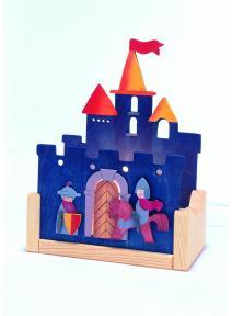 Lámpara de madera Castillo