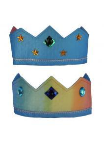 Corona de seda reversible