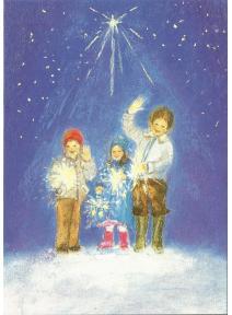 Postal - Feliz año nuevo