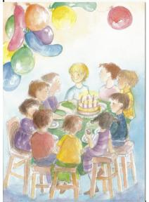 Postal - Cumpleaños