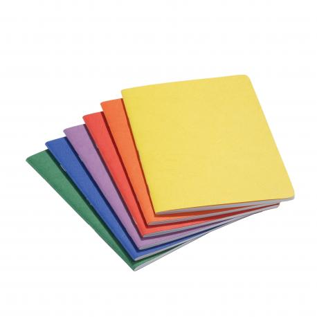 Cuaderno vertical pequeño con hoja de seda