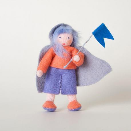 Muñeco niño del viento