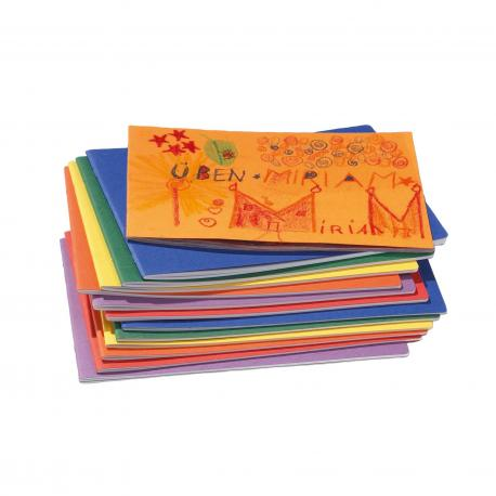 Cuaderno apaisado  con hoja de seda
