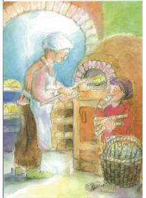 Postal - Panadero