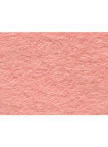 Fieltro de lana 100% rosa claro