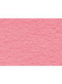 Fieltro de lana 100% rosa