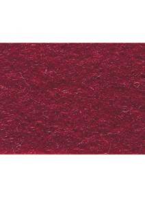 Fieltro 100% de lana rojo carmín