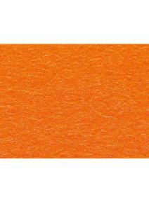 Fieltro de lana 100% naranja