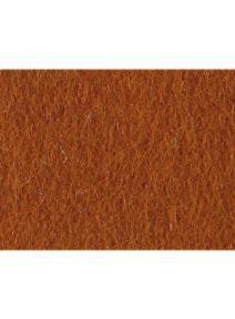 Fieltro 100% de lana marrón rojizo