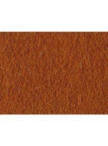 Fieltro de lana 100% marrón rojizo