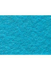 Fieltro 100% de lana turquesa