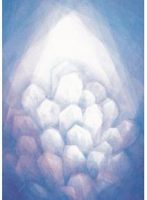 Postal - Roca de cristal