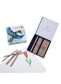 Lápices de madera 12 + 1 triángular