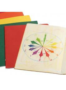 Cuaderno vertical grande 32 x 48 cm