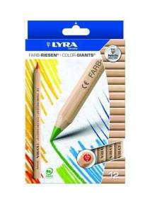 Lápices de madera 12 colores