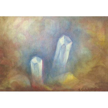 Postal - entre cristales