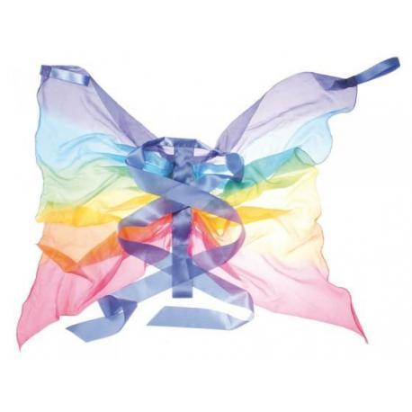 Alas de mariposa arcoiris sarahs silk