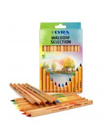 Lyra - lápices de madera Super Ferby de 12 colores - caja de carton