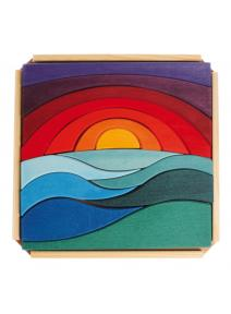 Puzzle de madera paisaje Grimm's