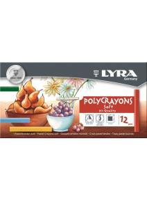 Barras de pastel Polycrayons 12