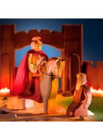 San Martin con caballo y mendigo
